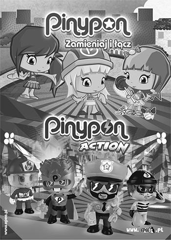 Kolorowanka Pinypon obrazek